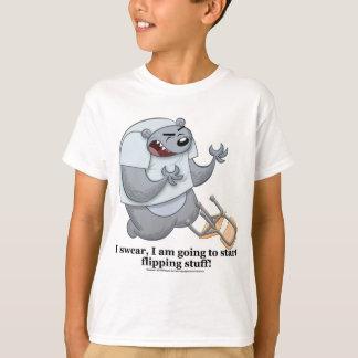 Bear Flipping Stuff T-Shirt