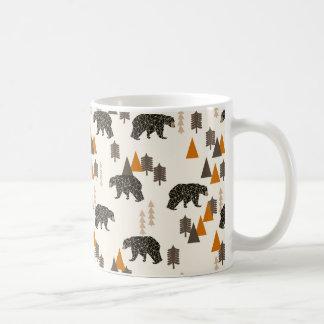 Bear / Forest Woodland Camping / Andrea Lauren Coffee Mug
