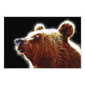 Bear Fractal Photo Print