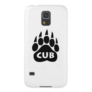 "Bear Gay Pride Paw ""Cub"" Samsung Galaxy Nexus Galaxy S5 Cover"