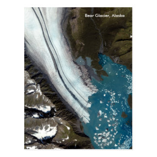 Bear Glacier in Alaska Postcard