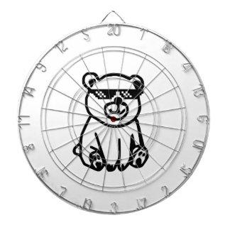 bear_glasses_hd_space dartboard