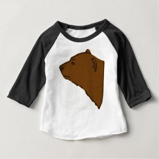 Bear Head Baby T-Shirt