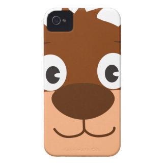 Bear Head Cartoon iPhone 4 Case-Mate Cases