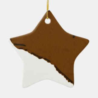 Bear Head Ceramic Ornament