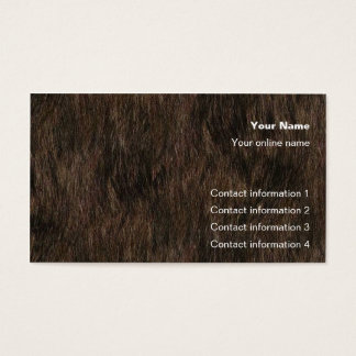 Bear Hide Trick card /