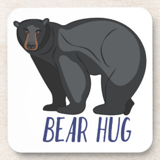 Bear Hug Beverage Coaster