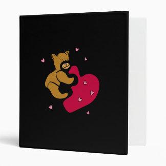 Bear Hug Vinyl Binder