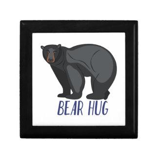 Bear Hug Jewelry Boxes