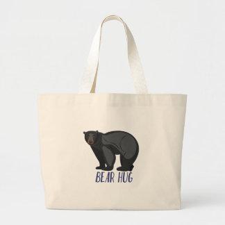 Bear Hug Large Tote Bag