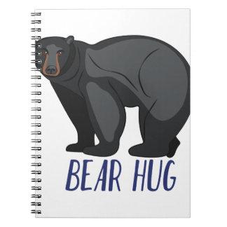 Bear Hug Note Books