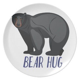 Bear Hug Party Plates