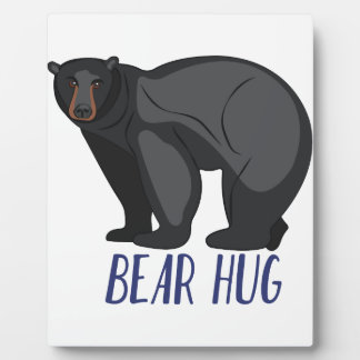 Bear Hug Plaque