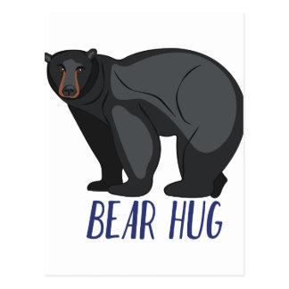 Bear Hug Postcard