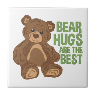 Bear Hugs Ceramic Tiles