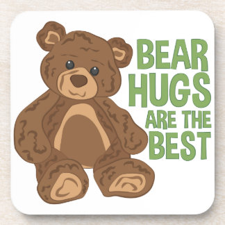 Bear Hugs Drink Coaster