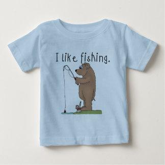Bear I Like Fishing Tshirts and Gifts