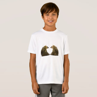 Bear image for Kids-T-Shirt-White T-Shirt