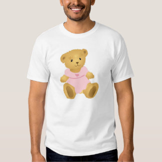 Bear in a Pink Dress T Shirts
