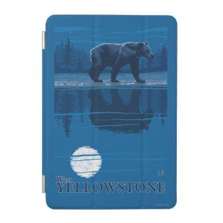 Bear in Moonlight - West Yellowstone, Montana iPad Mini Cover