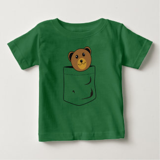 Bear in pocket baby T-Shirt