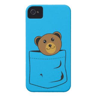 Bear in pocket Case-Mate iPhone 4 case