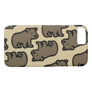Bear in the forest iPhone 8/7 case