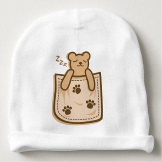 Bear_in_the_Pocket Baby Beanie
