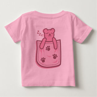 Bear_in_the_Pocket Baby T-Shirt