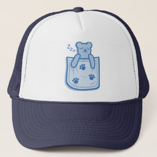 Bear_in_the_Pocket Trucker Hat