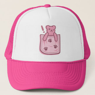 Bear_in_the_Pocket Trucker Hat