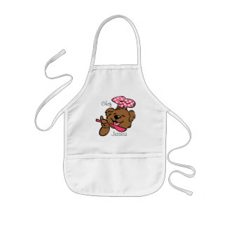 Bear Little Chef Custom Apron