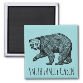 Bear Magnet Family Name