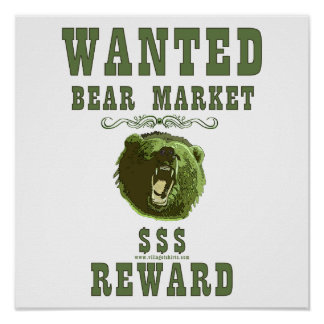 Bear Market Reward Print