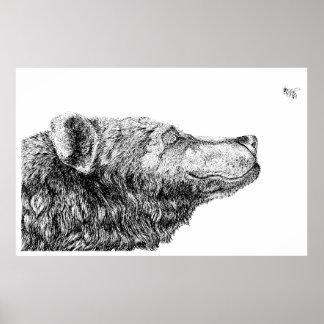 Bear Necessities by Inkspot Poster