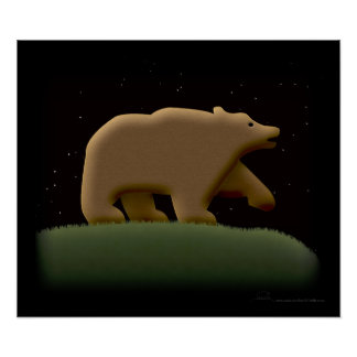 Bear Night Poster