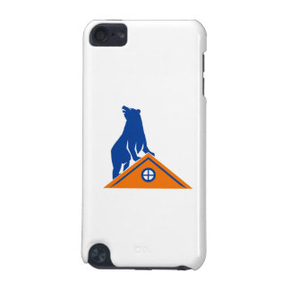 Bear On Roof Isolated Retro iPod Touch (5th Generation) Case