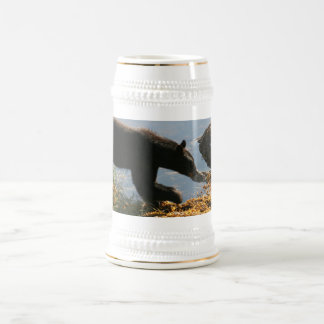 Bear on Seaweed Beer Stein