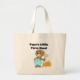 Bear Papa's Little Farm Hand Jumbo Tote Bag