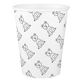 Bear Paper Cup