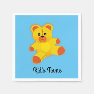 Bear Paper Napkins