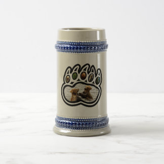 Bear Paw Beer Stein