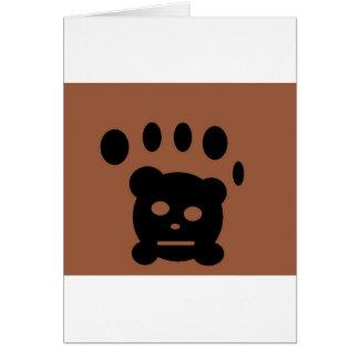 bear paw cards