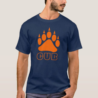 Bear Paw Cub (Orange) T-Shirt