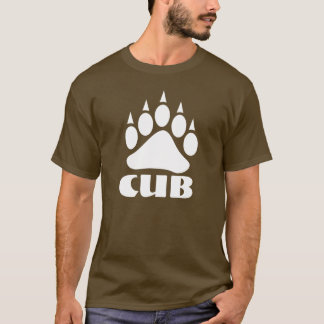 Bear Paw Cub (White) T-Shirt