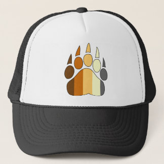 Bear Paw Gay Pride Hat Flag Colors