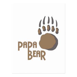 BEAR PAW PAPA POSTCARDS