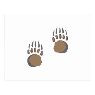 BEAR PAW POST CARD