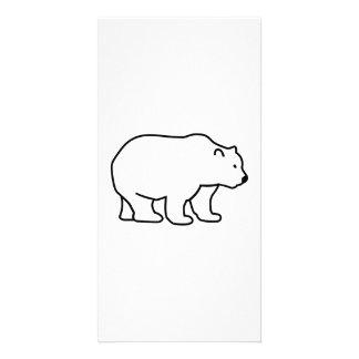 Bear Customized Photo Card