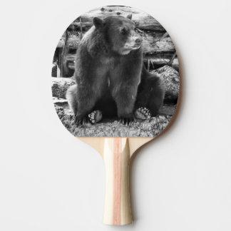 Bear Ping Pong Paddle